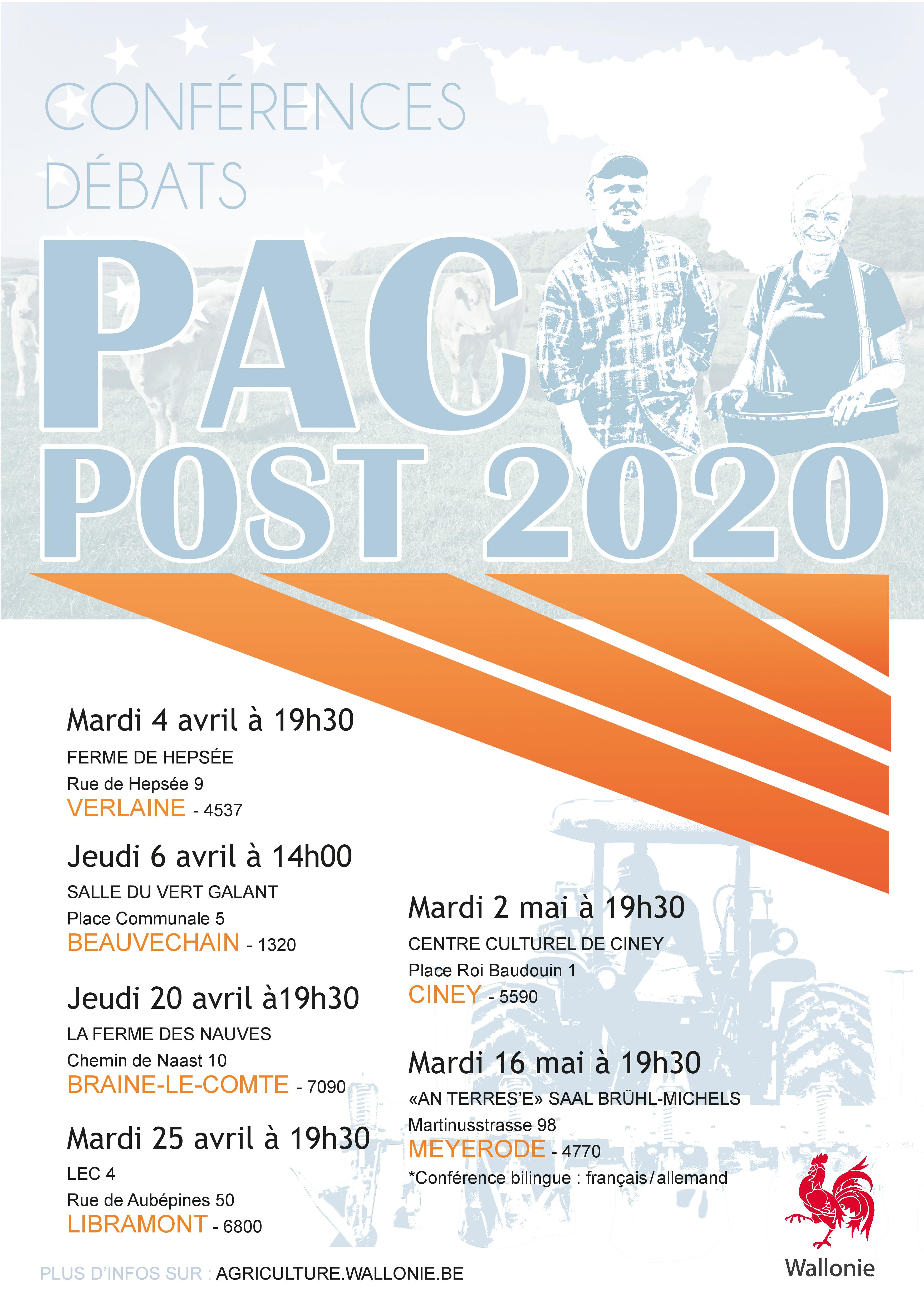 Agriculture wallonie pac on web